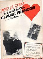 CLAUDE FRANCOIS  Le Journal Du Club  ANNEE 1980 - Music