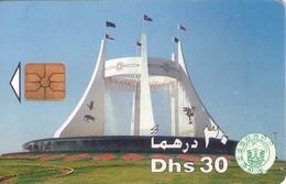 TARJETA TELEFONICA DE EMIRATOS ARABES UNIDOS. CHIP. (056). - Emiratos Arábes Unidos