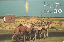 TARJETA TELEFONICA DE EMIRATOS ARABES UNIDOS. CHIP. (057). - Emiratos Arábes Unidos