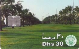 TARJETA TELEFONICA DE EMIRATOS ARABES UNIDOS. CHIP. (058). - Emiratos Arábes Unidos