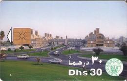 TARJETA TELEFONICA DE EMIRATOS ARABES UNIDOS. CHIP. (059). - Emiratos Arábes Unidos