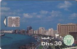 TARJETA TELEFONICA DE EMIRATOS ARABES UNIDOS. CHIP. (060). - Emiratos Arábes Unidos