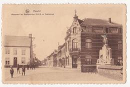 Haacht: Statiestraat En Monument. - Haacht