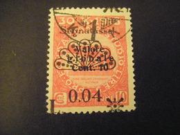 FIUME - 1921, Segnatasse, Sass. N. 26, 0,04 Su 10 C., II Tipo, TB, OCCASIONE - Fiume