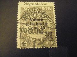 FIUME - 1921, Segnatasse, Sass. N. 25, 0,02 Su 25 C., II Tipo, TB, OCCASIONE - Fiume