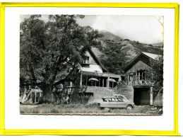 "Seynes Les Alpes. ""Le Vieux Tilleul""  Hotel Restaurant Salon De Thé.  Postée 196?  *etat : Plis * Citroen Ami 6 - France"