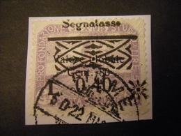 FIUME - 1921, Segnatasse, Sass. N. 21, 0,40 Su 80 C., I Tipo, TB, OCCASIONE - 8. Occupazione 1a Guerra