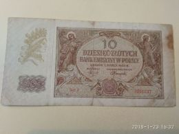 10 Zlotych  1940 - Polen