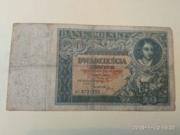 20 Zlotych  1931 - Polen