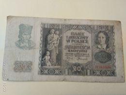 20 Zlotych  1940 - Pologne