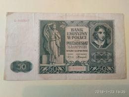 50 Zlotych  1941 - Pologne