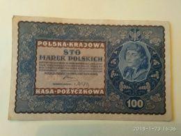 100 Zlotych  1919 - Polonia