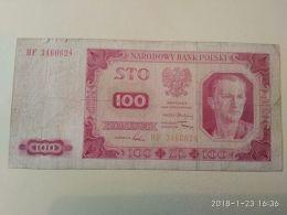 100 Zlotych  1948 - Polonia
