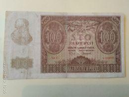 100 Zlotych  1940 - Polonia