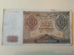 100 Zlotych  1941 - Polonia