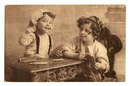 CPA - Carte Postale -Fantaisie - Enfant - Jeux De Carte - 1924 (CP108) - Belgique
