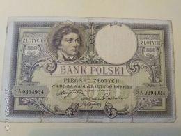 500 Zlotych  1919 - Polen