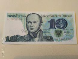 10 Zlotych 1982 - Pologne