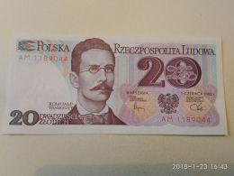 20 Zlotych 1982 - Polonia