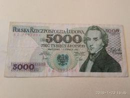 5000 Zlotych 1982 - Polonia