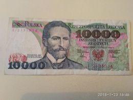10000 Zlotych 1987 - Polonia