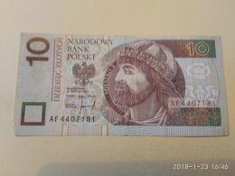 10 Zlotych 1994 - Polonia