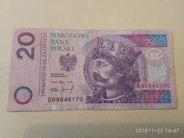 20 Zlotych 1994 - Polonia