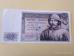 500 Zlotych 1939  COPY - Poland