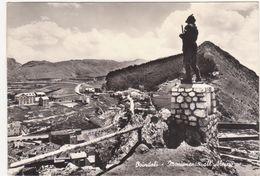 500 OVINDOLI MONUMENTO ALL' ALPINO L' AQUILA 1950 CIRCA - L'Aquila