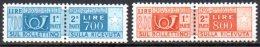 590-Italie CP88A Et 88B** - 1946-.. République