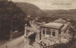 TERME DI AGNANO INGRESSO DALLO SCALONE MONUMENTALE 1923 - Altre Città