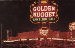 Nevada Las Vegas Golden Nugget Gambling Hall Saloon and Restaura