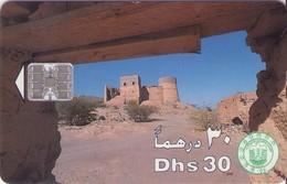 TARJETA TELEFONICA DE EMIRATOS ARABES UNIDOS. CHIP. (061). - Emiratos Arábes Unidos