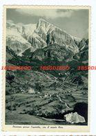 DRESENZA PRESSO CAPORETTO , CON IL MONTE NERO F/GRANDE VIAGGIATA 1935? - Gorizia