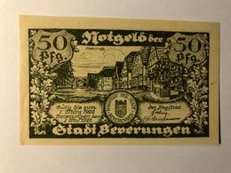 Allemagne Notgeld Beverungen 50 Pfennig - [ 3] 1918-1933 : Weimar Republic