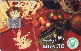 TARJETA TELEFONICA DE EMIRATOS ARABES UNIDOS. CHIP. (064). - Emiratos Arábes Unidos