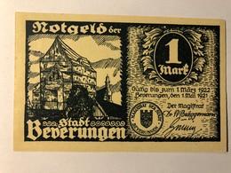 Allemagne Notgeld Beverungen 1 Mark - [ 3] 1918-1933 : Weimar Republic