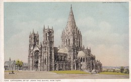 New York, The Cathedral Of St John, The Divine (pk42307) - Brooklyn