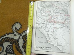 Girgenti  Italy Italia Map Karte Mappa 1887 - Carte Geographique
