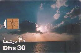 TARJETA TELEFONICA DE EMIRATOS ARABES UNIDOS. CHIP. (067). - Emiratos Arábes Unidos