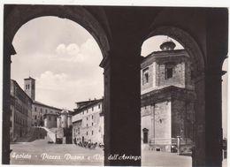 532 SPOLETO PERUGIA PIAZZA DUOMO E VIA DELL' ARRINGO 1964 - Perugia