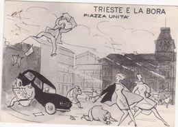 540 TRIESTE E LA BORA PIAZZA UNITA' 1987 - Trieste (Triest)