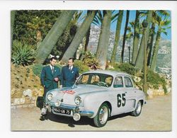 RALLYE DE MONTE-CARLO  1958   DAUPHINE  VOIR LES  2 SCANS - Rallyes