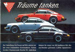 Allemagne - Publicité Träume Tanken - Texaco - Ecrite, Timbrée - 4267 - Passenger Cars
