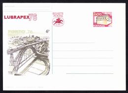 Postal Stationery/ Bilhete Postal Portugal - LUBRAPEX 76 - Ganzsachen