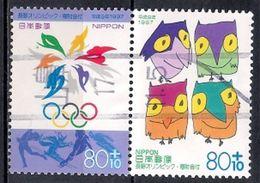 Japan 1997 - Winter Olympic Games - Nagano 1998, Japan - Oblitérés