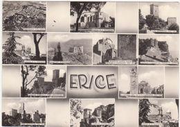 563 ERICE TRAPANI 12 VEDUTE 1957 - Trapani