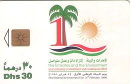TARJETA TELEFONICA DE EMIRATOS ARABES UNIDOS. CHIP. (072). - Emiratos Arábes Unidos
