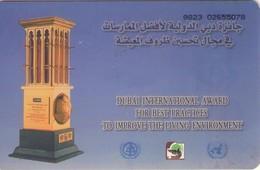TARJETA TELEFONICA DE EMIRATOS ARABES UNIDOS. CHIP. (074). - Emiratos Arábes Unidos
