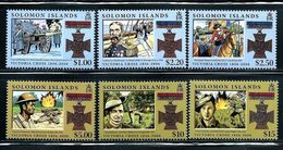 "Solomon Islands     ""Victoria Cross""     Set     SC# 1056-61      MNH - Solomon Islands (1978-...)"